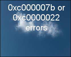 the application was unable to start correctly 0xc0000022 pdf